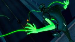 Cypher finds Batman