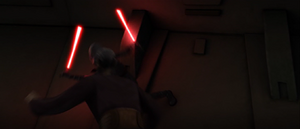 Dooku Ventress dodge