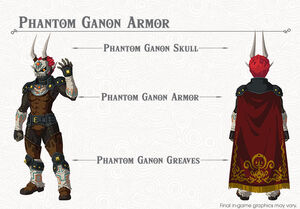 Phantom Ganon Armor set (Breath of the Wild)