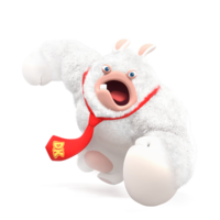Rabbid Kong attack