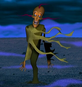Courage The Cowardly Dog King Ramses