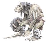 Monster Manual - 2D&D - Orc - p281