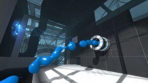 Portal2 blue blob