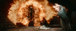 Sauron Flaming