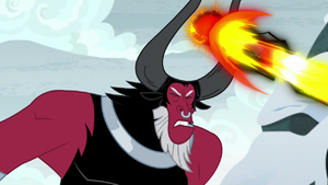 Tirek unable to maintain his beam S9E8