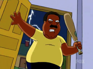 Cleveland Ready to Kill Quagmire