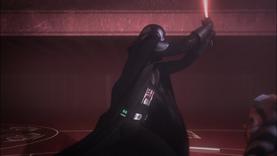 Darth Vader oscillate