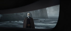 Dooku eye-hole