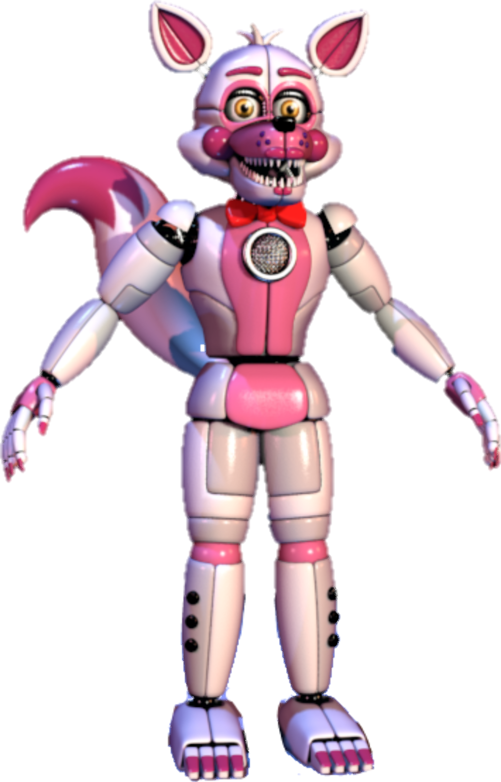 Funtime foxy and funtime freddy