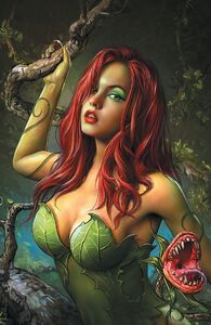 Harley Quinn and Poison Ivy Vol 1 1 Textless Maer Ivy Variant