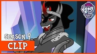King Sombra Takes Over the Crystal Empire (The Beginning of the End) MLP FiM HD