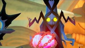 Kingdom Hearts 3 - Lich - Boss Fight Gameplay (PS4 HD) 1080p60FPS