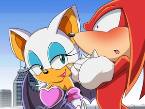 Rouge and Knuckles