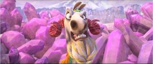 Shangri Llama Worried