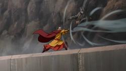 Tenzin battles Zaheer