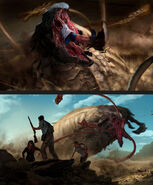 Tremors illustrations