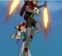 Ash & Pikachu final confrontation with the Marauder