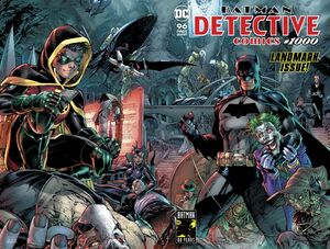 Detective Comics Vol 1 1000 Wraparound Cover