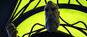 Dooku vowing