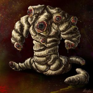 Maggot monster by lordnetsua-d1flheb