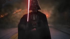 Vader deflects