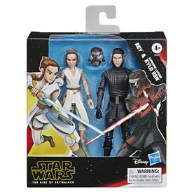 Galaxy Of Adventures Rey And Kylo Ren 2-Pack