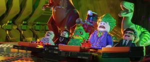 Joker and phantom zone villains shocked