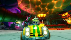 Komodo Joe Crash Team Racing Nitro-Fueled
