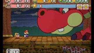 Paper Mario- The Thousand Year Door - First Boss Battle- Hooktail