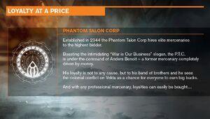 Phantom talon corp 1