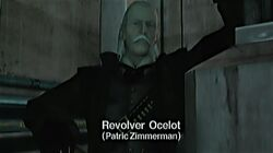 Revolver Ocelot arrives (MGS1)