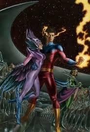Vulcan and deathbird