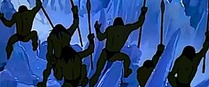 Cheering in Icepeak