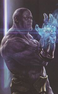 Infinity Gauntlet concept art 14
