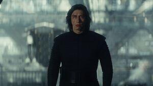 Kylo stares Rey