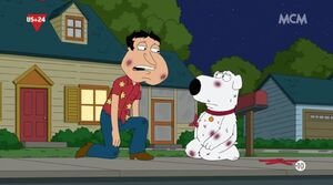 Brian Quagmire don't Fight