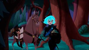 Cass kidnaps Varian