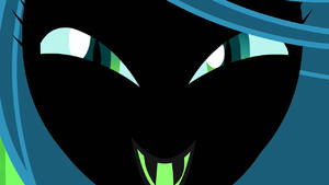 Chrysalis' evil laugh S2E26