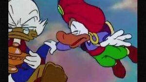 DuckTales the Movie Treasure of the Lost Lamp (1990) - Merlock's Death
