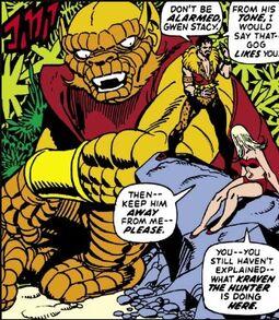 Gog (Tsiln) (Earth-616) from Amazing Spider-Man Vol 1 104 0001