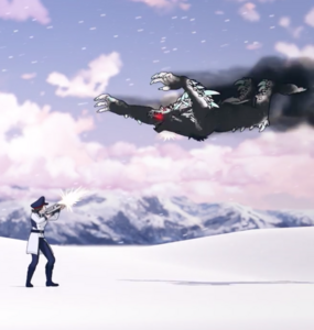 Ice beowolf attack