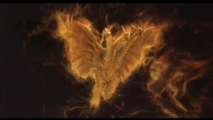 King Ghidorah (Rebirth of Mothra III) 09