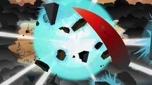 King Sombra exploding S3E2