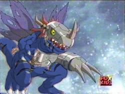 MetalGreymon Virus