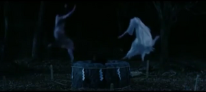 Sadako and Kayako before fused