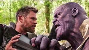 Thanos Vs Thor - Fight Scene - Thanos Snaps His Fingers - Avengers Infinity War (2018) Movie CLIP HD