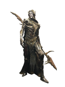Corvus glaive transparent background by camo flauge-dbh4g2q