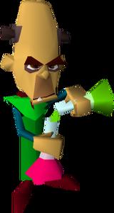 Crash Bandicoot Doctor Nitrus Brio