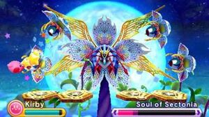 Kirby Triple Deluxe Boss 16 (Final Boss) - Soul of Sectonia