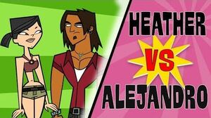 TOTAL DRAMA Aleheather! A love-hate story